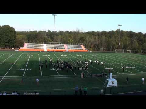 2013 Charlottesville Cavalcade - Wilson Memorial High School Emerald Regiment