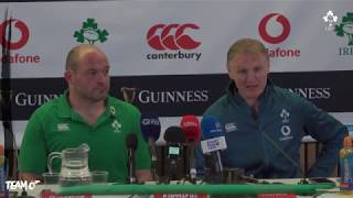 Irish Rugby TV: Ireland v New Zealand Post-Match Press Conference