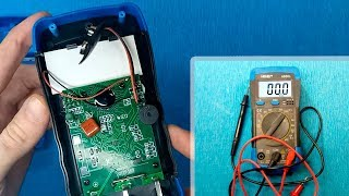 LCD digital multimeter AC/DC voltage. Diode Frequency Multimeter Capacitance | A830L thumbnail