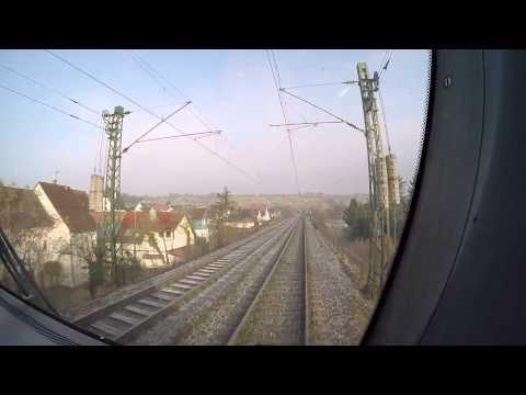 Führerstandsmitfahrt Stuttgart - Heilbronn - Neckarsulm