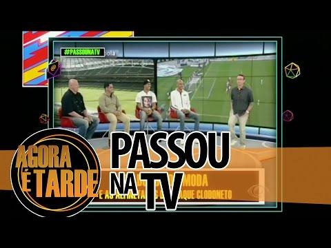 Passou na TV   Agora é Tarde   02:10: