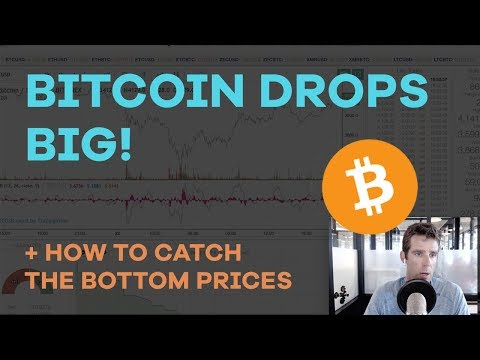 Bitcoin Drops BIG + How To Catch The Bottoms - BCH Mining Switch, Risk/Reward Buys - CMTV Ep30