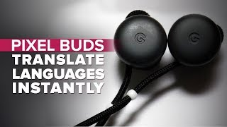 Pixel Buds translate languages instantly