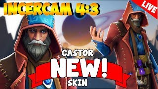 🔴CASTOR NEW SKIN | 4:3 - Fortnite Romania [LIVE Season #6]