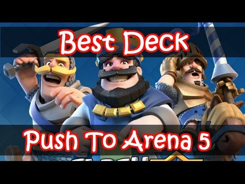 Clash Royale | Best Arena 4 Deck And Strategy - Only One Epic Card!!!