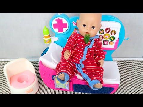 Беби Бон Миша в Больнице у Доктор Плюшева Мультик для детей Как Мама Играла в Куклы 108мама тв