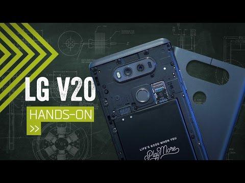 LG V20 Hands On: The Phone For A/V Geeks