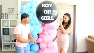 OUR OFFICIAL GENDER REVEAL 2019 MANNIE & GENECIA