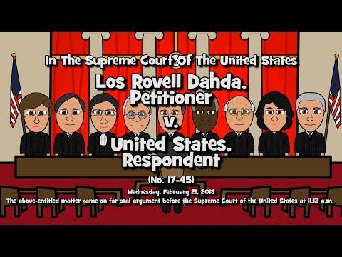 Los Rovell Dahda v. United States (SCOTUS-Toons)