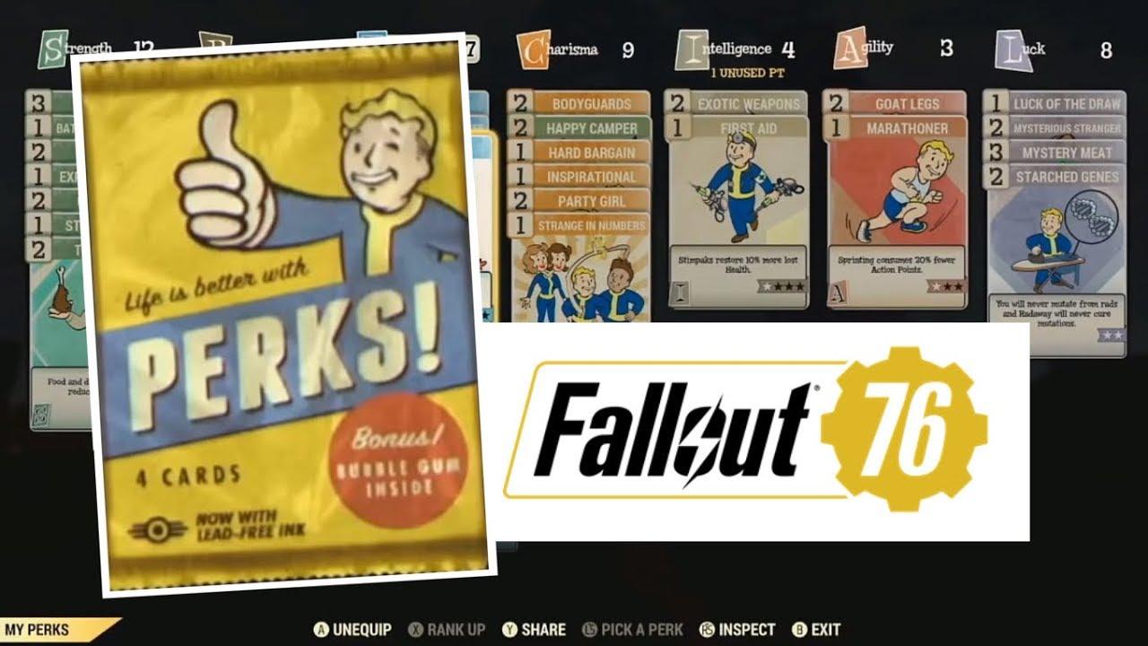 fallout 76 perk card packs