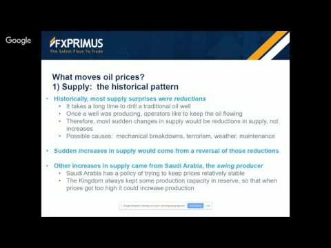 Introduction to oil: Background to the market and outlook for the price with Marshall Gittler
