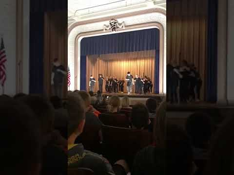 922 Floss Crew's performance at the Claymont Middle School Talent Show