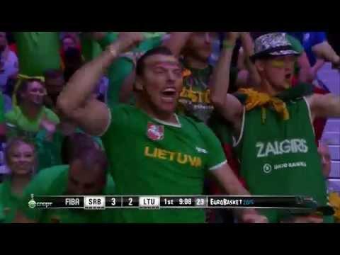 lithuania-serbia  Eurobasket 2015 HD
