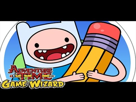 Adventure Time Game Wizard - Draw Your Own Adventure Time Games Gameplay Walkthrough Part 1