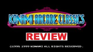 """""""Konami Arcade Classics"""" (PS1) Review"""