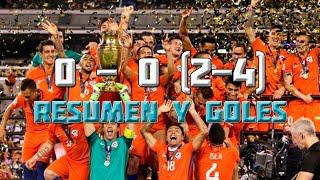 Argentina vs. Chile 0-0 (2-4) - Final Copa America Centenario 2016 Resumen y Goles en HD 26/06/16