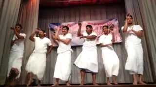A  Kuluki thaka dance...laughter live longer ,a good laugh for long life....