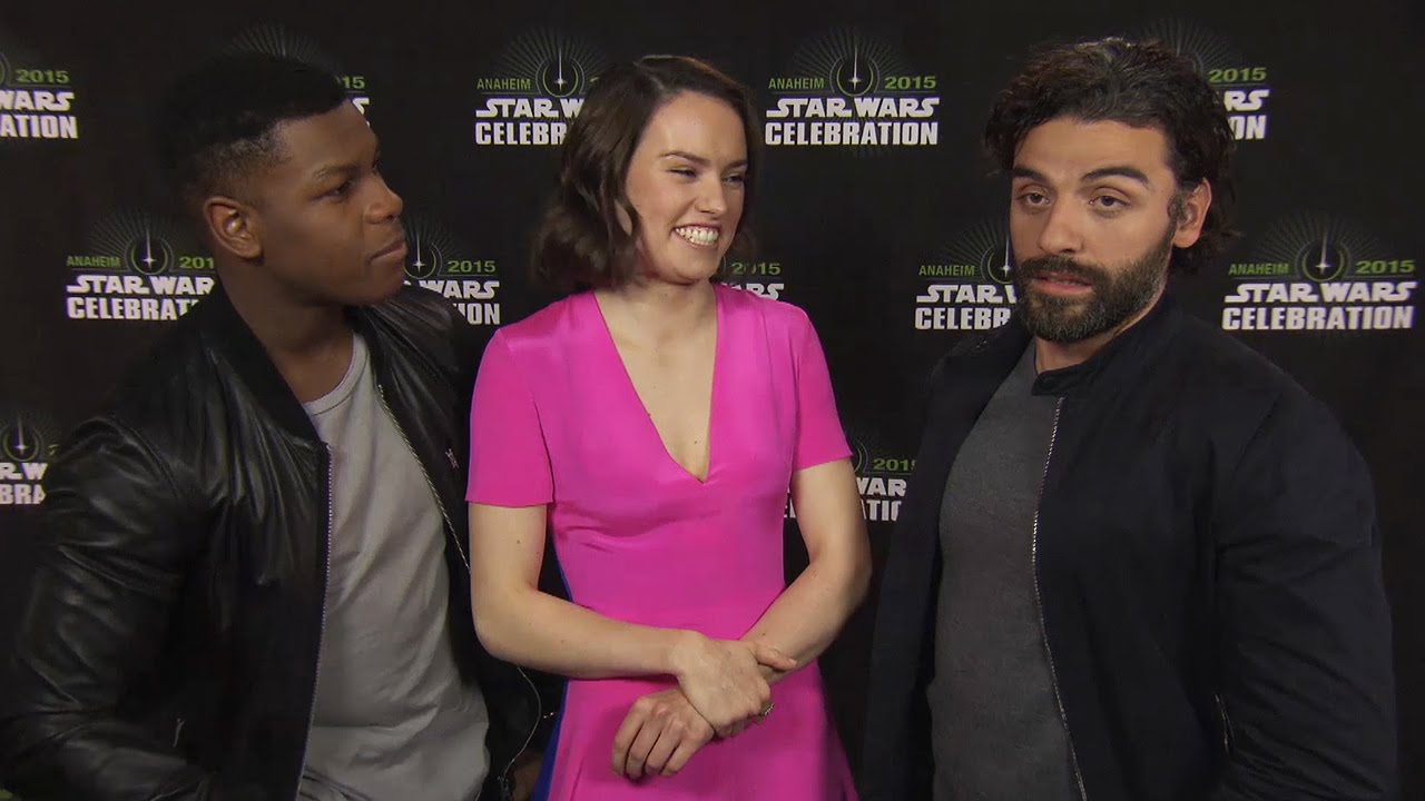 John Boyega Daisy Ridley Amp Oscar Isaac Talk Power Of Star