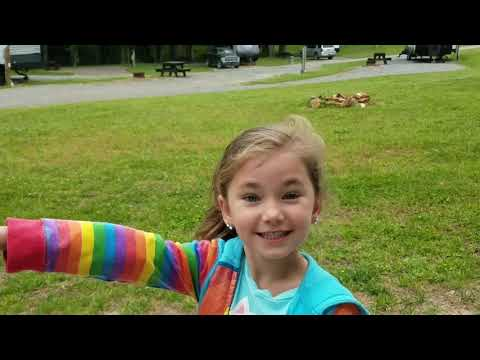 Byrd's Branch Campground Elkin North Carolina - Walk Around And Review