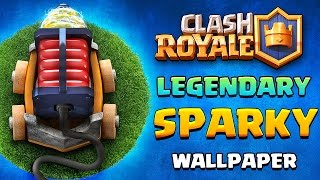 [NEW] Clash Royale HD Wallpaper- SPARKY!!!