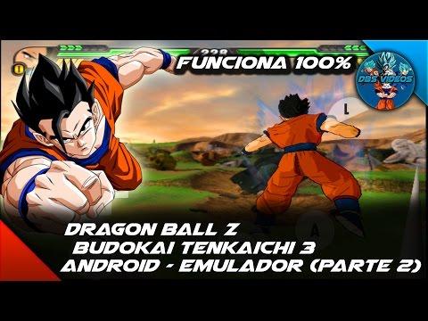 (DOWNLOAD) DRAGON BALL Z BUDOKAI TENKAICHI 3 ANDROID - WORKS 100% EMULATOR - (PART 2) - DBS VIDEOS