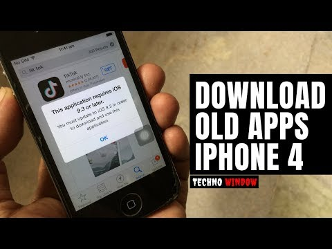 How To Download Older Version Of Apps In IPhone 4