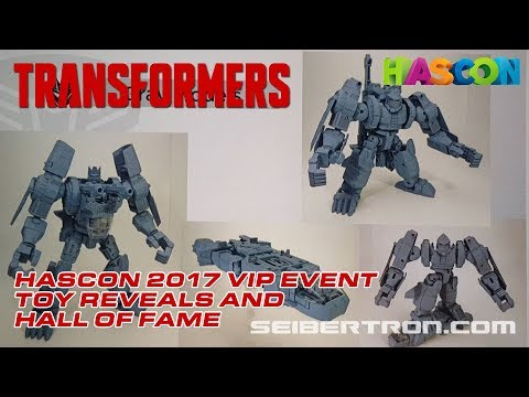 HASCON 2017: Transformers VIP Event TOY and Hall of Fame Reveals