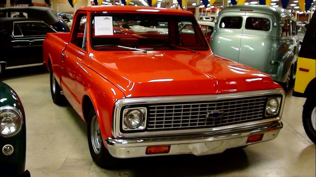 1972 Chevrolet C10 Shortbed Pickup  YouTube