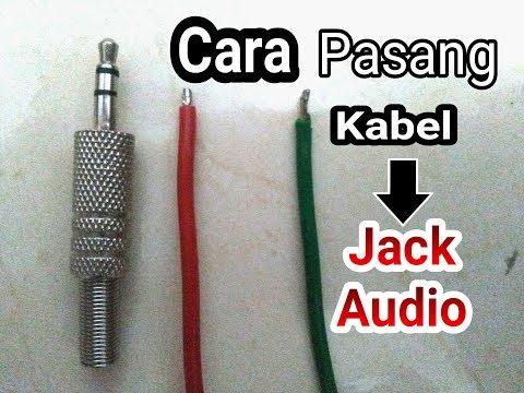 Cara pasang jack audio hp - simple dan gampang
