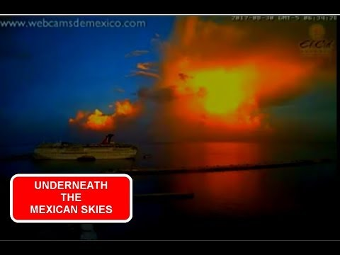 SIGNS OF COMETS - HUGE YELLOW/ORANGE DUST CLOUDS IN MEXICO