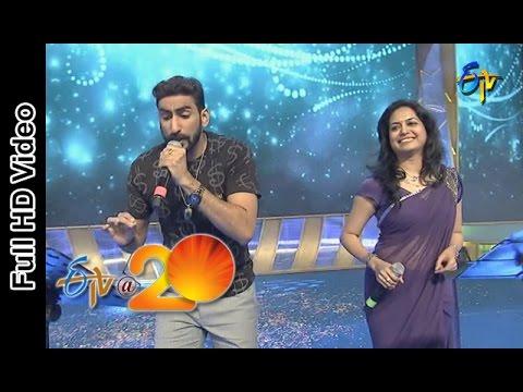 Sunitha & Karunya Performance - Swathilo Muthyamantha Song  in Viajaywada ETV @ 20 Celebrations