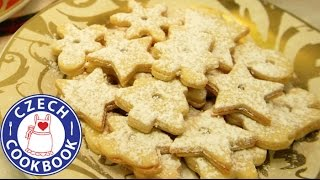 Linzer Christmas Cookie Recipe - Linecké cukroví - Czech Cookbook