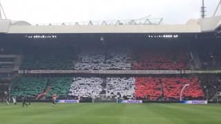 PSV Support: Tifo por Andres Guardado : Mi Amigo Guardado : La bandera de México