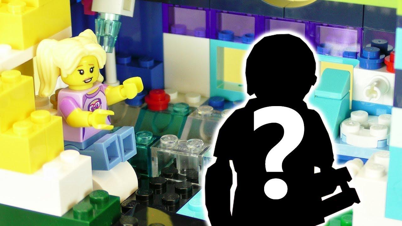 LEGO Badezimmer Selber Bauen + Wer Ist Lisas Neuer Freund/ Freundin? Lego  Kinderserie DIY XXL HAUS
