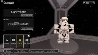 Battlefront BETA, the best Starwars game for Roblox