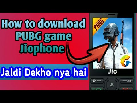 How To Download PUBG Game Jiophone || Jio Phone Mai PUBG Game Kaise  Download kare ||