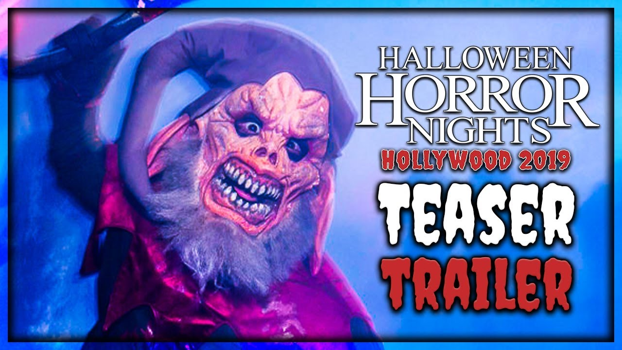 Halloween Horror Nights Trailer 2020 Halloween Horror Nights 2019 Teaser Trailer Montage   YouTube
