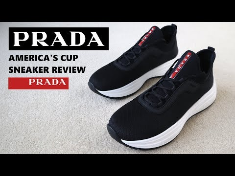 Prada Americas Cup Sneaker Review - YouTube