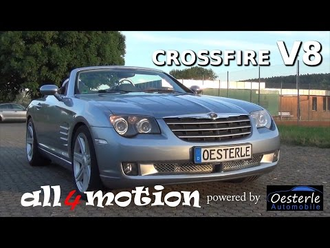 Chrysler Crossfire V8 Swap With 6 Gear Manual Transmission By Oesterle