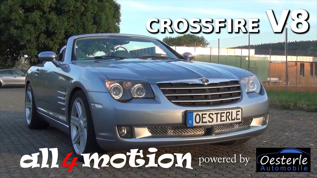 chrysler crossfire v8 swap with 6 gear manual transmission by rh youtube com Caliber SRT4 SRT-6 Durango