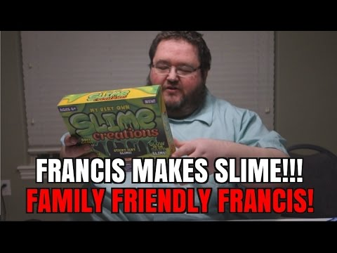 FRANCIS MAKES SLIME - HOW TO MAKE YOUR OWN SLIME?