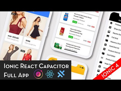 Ionic React Capacitor Full App - Setup and First Run thumbnail