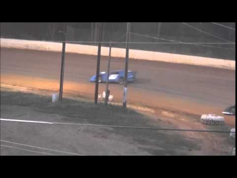 Late Model Heat #2 from Ponderosa Speedway 6/13/14.