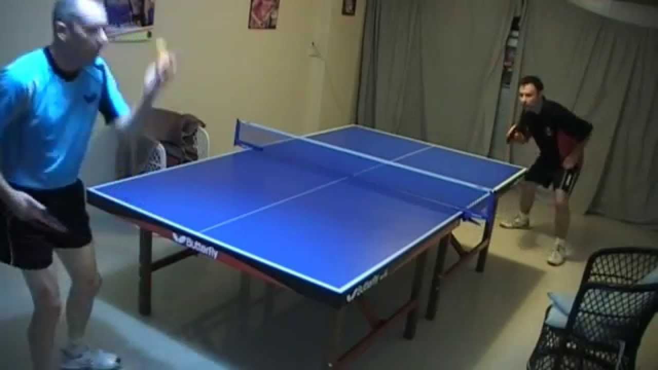 Table Tennis Match Best Points Ever Backhand Spectacular