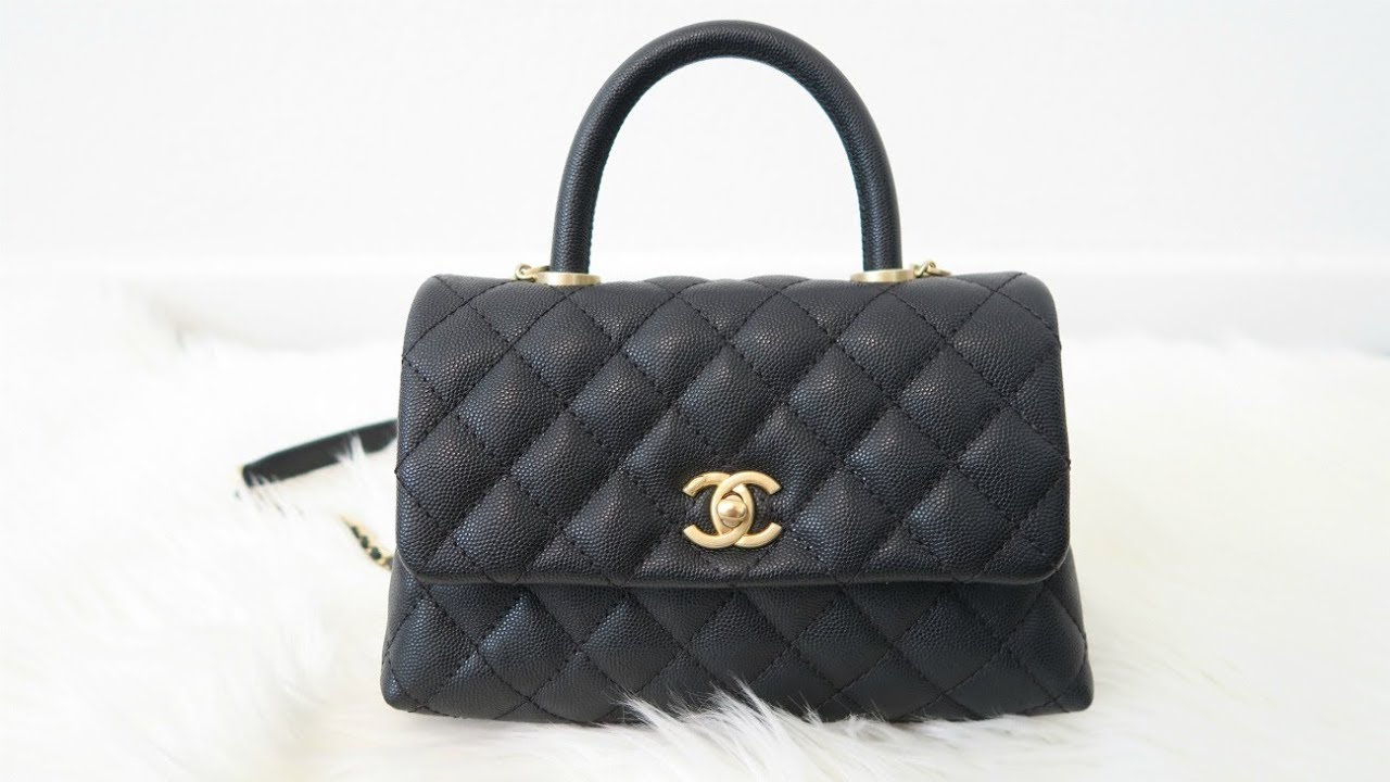 7711dd2653b4 CHANEL COCO HANDLE MINI UNBOXING - YouTube