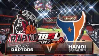 tbsl 2017 game 2 q1 hnb vs dunkin raptors 2017 1 8