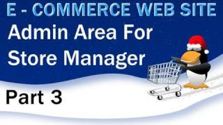 3. E - Commerce-Website-Tutorials - Erstellen Sie die PHP-Admin Log-In-System