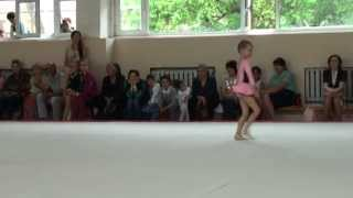 Художественная гимнастика Вика конкурс Маленькая Фея