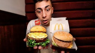 BIG MAC vs HAMBURGUESA DE ORO DE 24 K!!!