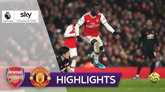 Arsenal startet mit Erfolg ins neue Jahr | FC Arsenal - Man United 2:0 | Highlights - Premier League